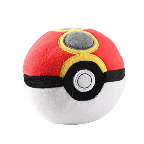 Pokemon Repeat Ball 5 Pokeball Plush