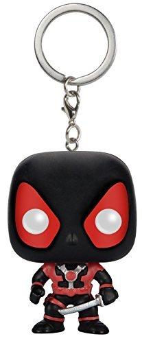 Funko POP Keychain Marvel Black Suit Deadpool Action Figure