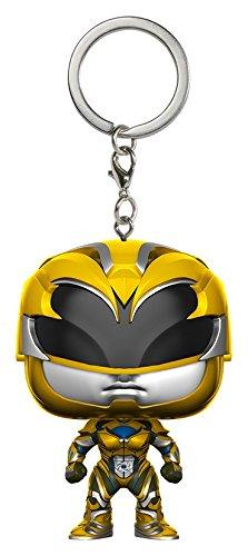 Funko Pop Keychain Power Rangers Yellow Ranger Toy Figure