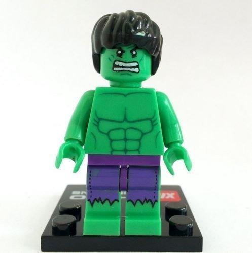 Hulk Incredible Hulk Minifigures Superheroes Size 45 cmMini Figures BuildingBlocks New in plastic bag