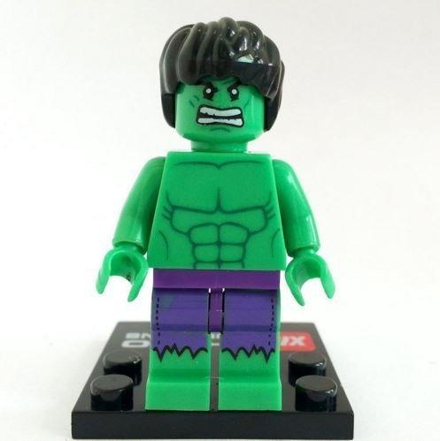 Hulk Incredible Hulk Minifigures Superheroes Size 45 cmMini Figures BuildingBlocks New in plastic bag by Super-Heroes