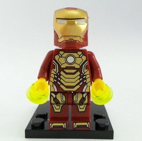 Iron Man Anthony Stark MinifiguresSuperheroes Size 45 cmMini Figures BuildingBlocks New in plastic bag