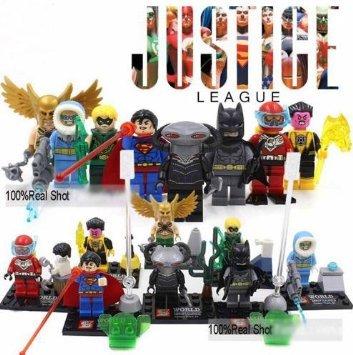 JusticeLeague BatManSuperManArrowFlash Friends Figures BuildingBlocks