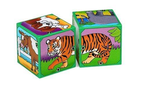 Small World Toys Neurosmith - Magic Sound Blocks - Animals
