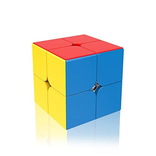 2x2 Speed Cube VFunix Eco-Friendly Plastics and Vivid Colors Stickerless 2x2 Cube
