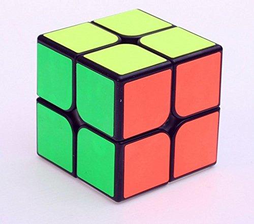 GCA YJ GuanPo Smooth Speed 2x2 Stickerless Puzzle Cube Black