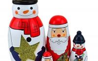 King-Light-5pcs-Snowmans-Nesting-Dolls-Wooden-Russian-Dolls-Matryoshka-Stacking-Toys-14.jpg