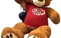 Big-Plush-5-Foot-Giant-Teddy-Bear-Wearing-GET-WELL-SOON-T-shirt-60-Inches-Soft-Cinnamon-Brown-Color-Huge-Teddybear-20.jpg